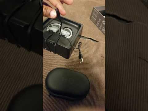 Unboxing Future Sport IJoy IPX7 Bluetooth earphones