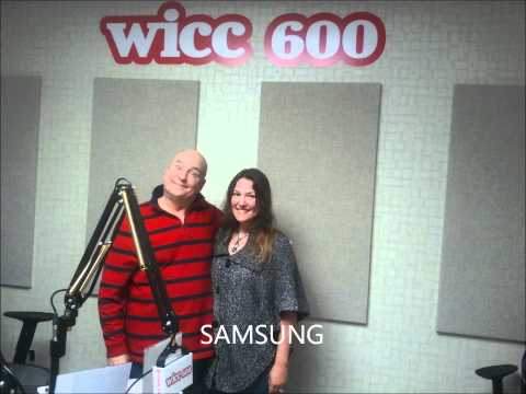 Jim Buchanan WICC 600  with Don Most, Victor Alfieri and Jill Gray Savarese 20120502.wmv
