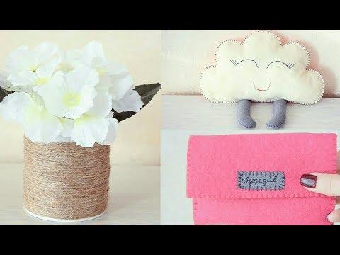 El Yapımı Hediyeler! Uygun Ve Pratik Kendin Yap Fikirleri | DIY Handmade Gifts
