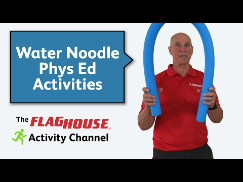 Water Noodle Activities for Phys Ed (Ep. 20 - Water Noodles)