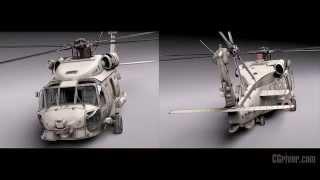 3D Model: Sikorsky SH-60 Seahawk - CGriver.com