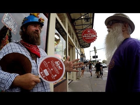 "Crazy ""educated"" homeless man supports the Koran & ISLAM"