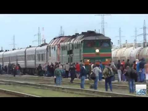 Пассажирский поезд 377Г Новый Уренгой → Казань