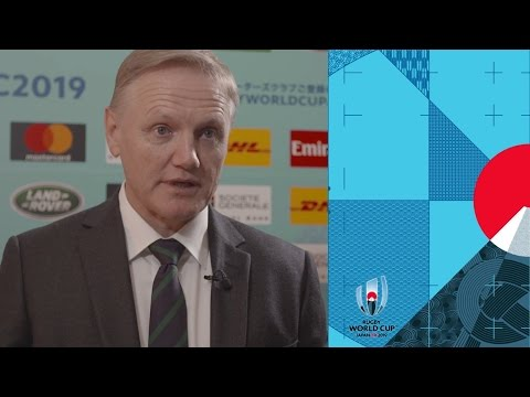 Joe Schmidt on Ireland's Rugby World Cup 2019 pool draw