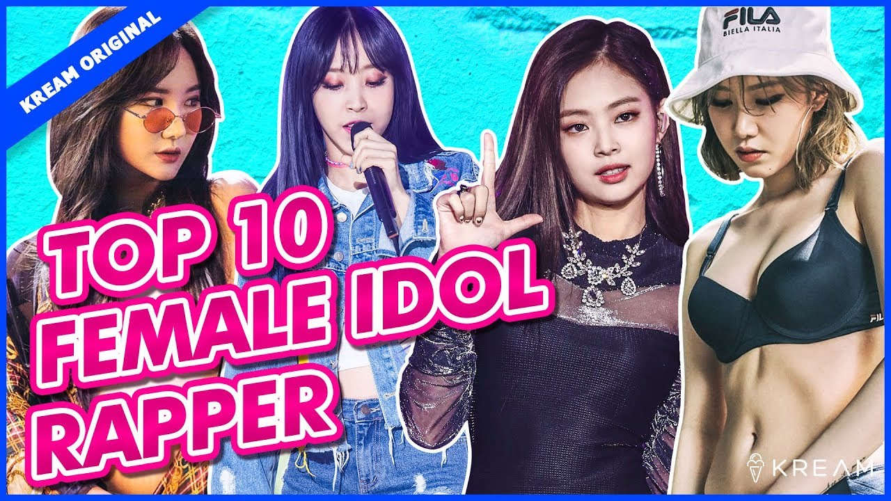 Top 10 Kpop Female Idol Rappers Youtube