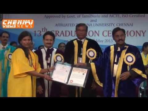 EASWARI ENGINEERING COLLEGE 13th GRADUATION CEREMONY