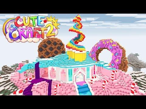 BUILDING CANDY MOUNTAIN!!!   CuteCraft Season 2 #6
