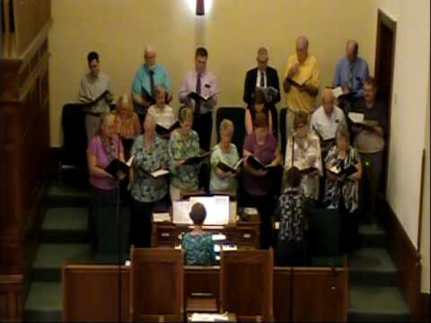 """Tarkio College Alumni Choir sings """"Peace Be With You"""" by Butler"""
