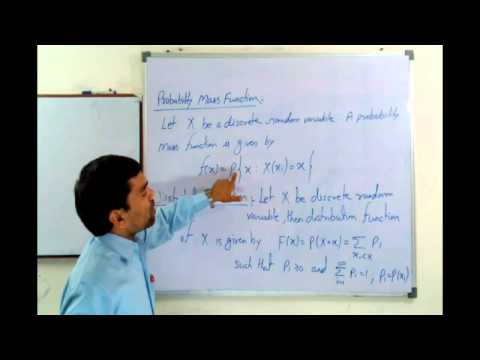 Probability Mass Function & Density Function in Hindi