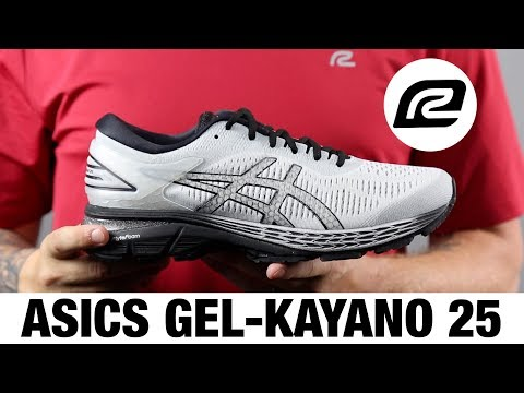 Black ASICS Gel-Kayano 25 Sp  Athletic Running Neutral Shoes Womens
