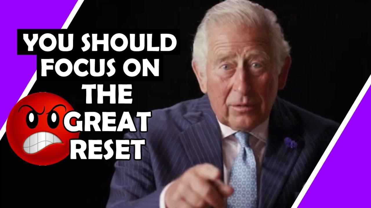 Prince Charles Wants YOU To Focus On The Great Reset / Hugo Talks