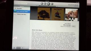 HD Video App Review: Pandora (iPad) Free