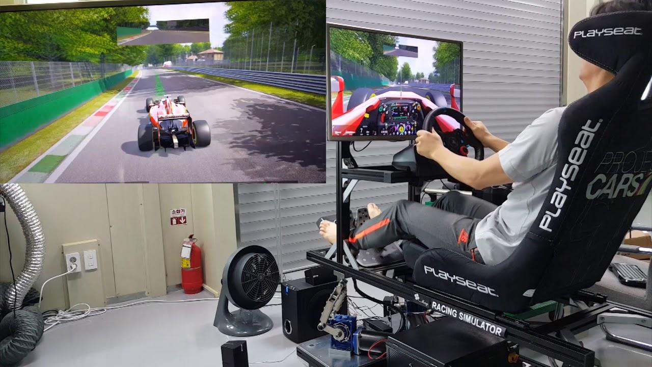Car racing simulator 3DOF - Asseto Corsa (no simtools)