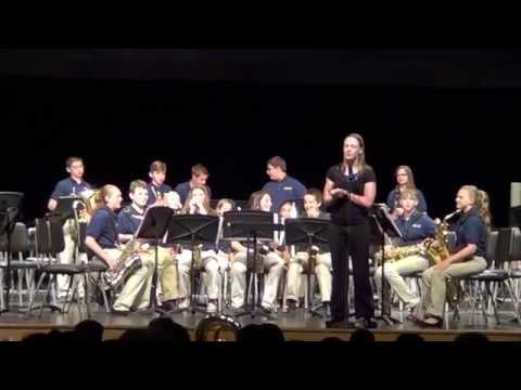 Hawthorne Brook Middle School - Jazz Band    2015