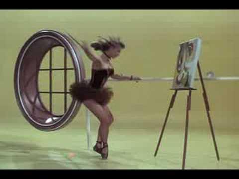 """Vera-Ellen performs in """"Miss Turnstiles"""""""