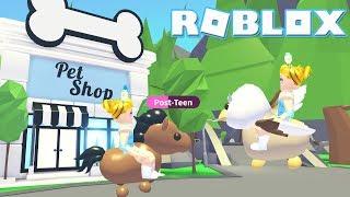 Ride a Pet Update! Roblox: 🐴RIDE A PET🐴Adopt Me!