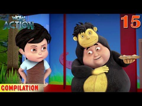 Vir : The Robot Boy | Vir Action Collection - 15 | Action series | WowKidz Action