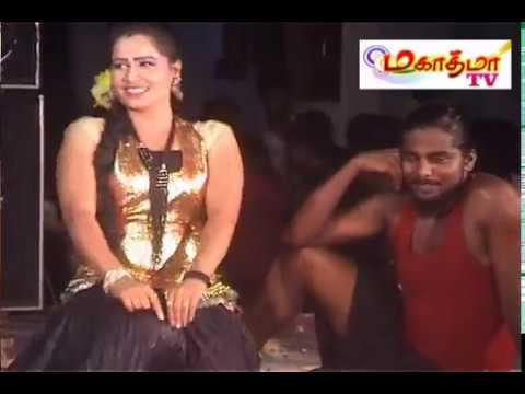 Adal Padal Hot- Enna Dappa Party ,New Village Public Midnight Tamil Record Dance -2016