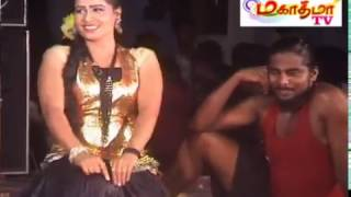 Adal Padal Hot- Enna Dappa Party ,New Village Public Midnight Tamil Record Dance -2016