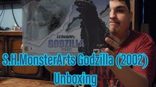 S.H.MonsterArts Godzilla (2002) Unboxing