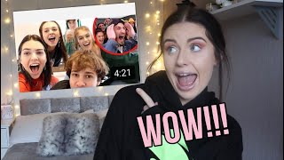 REACTING TO DAVID DOBRIK SURPRISING BEST FRIEND WITH DREAM BIRTHDAY!! | Katy Rebecca