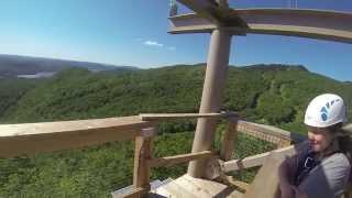 Ziptrek Mont Tremblant - Zipline - Tyroliennes - GoPro