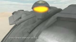 trooper cg animated short film cgアニメーション 総合電子専門学校