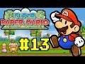 Let's Play Super Paper Mario #13 - Bowser Peso Pesado!