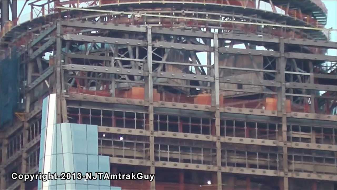 Quick Look At One World Trade Center / Freedom Tower 4/13/2013 Construction  Progress Part 2