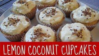 How To Make Lemon Coconut Cupcakes | Cupcats