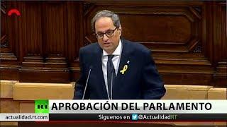 Quim Torra es investido como presidente de Cataluña