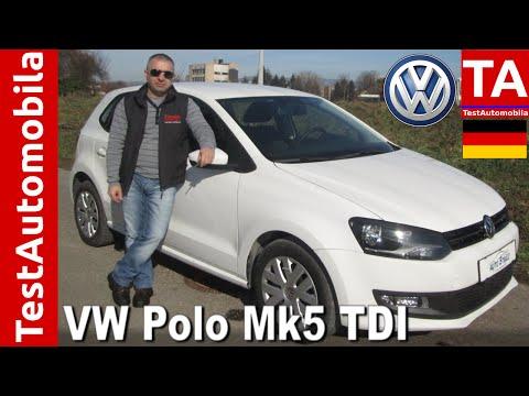 VW Polo Mk5 1.6 TDI TEST - mali Golf