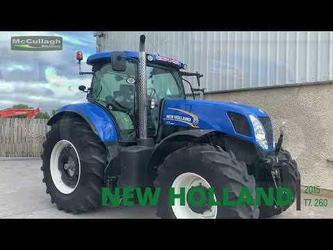2015 New Holland T7260
