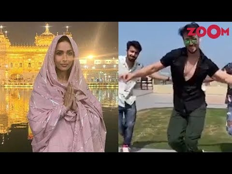 Malaika Arora visits the Golden Temple | Tiger Shroff shows his amazing dance moves | Insta Zoom Mp3