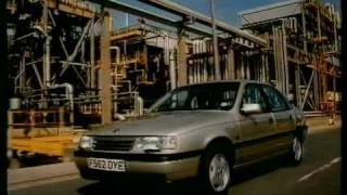 Vauxhall Cavalier 'car of the future' advert 1980s