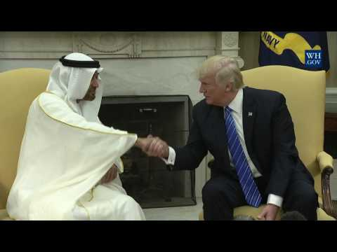 President Trump Meets with Crown Prince Muhammad bin Zayed Al Nahyan