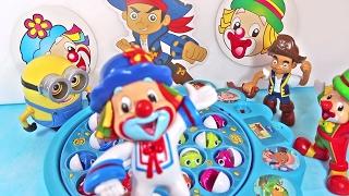 Patati Patatá Pirata Jake Brinquedos e Surpresas Desafio de Pescaria Jogo 5 Episódios Completos