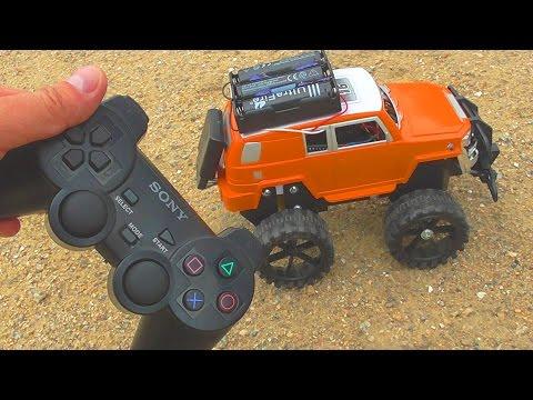 видео: Как сделать машинку на радиоуправлении от джойстика sony ps2