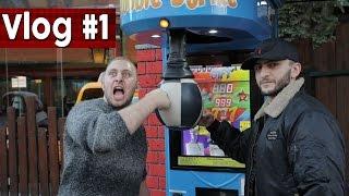Boxautomat ZERSTÖRT | VLOG#1 mit Halid & Abdul !
