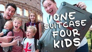 Italy Trailer - One Suitcase, Four Kids