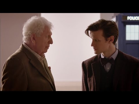The Eleventh Doctor Meets The Curator (Tom Baker) - Doctor Who - The Day of the Doctor - BBC