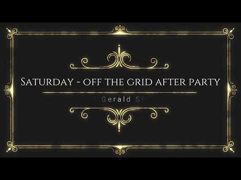 Saturday Cross Stitch with Gerald 12/9/17