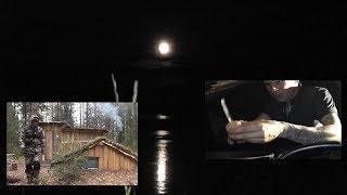 ПОЛНОЛУНИЕ! Ночь в ЗЕМЛЯНКЕ. Рыбалка донками на миногу - Б.Р №703