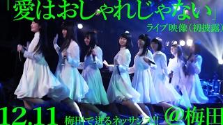2016年12月11日にUMEDA CLUB QUATTROにて行われた「梅田で迸るネッサン...