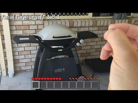 Real Life Minecraft - TEKKIT BBQ