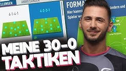 MEINE 30-0 TAKTIKEN, TOP FORMATIONEN & ANWEISUNGEN - TOP 100 WEEKEND LEAGUE! | FIFA 20 ULTIMATE TEAM