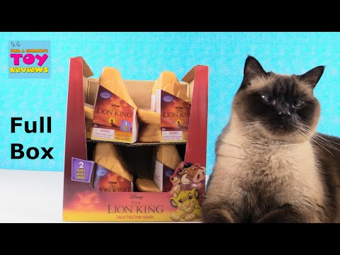Disney The Lion King Collectible Mini Blind Bag Figures Toy Unboxing Review | PSToyReviews