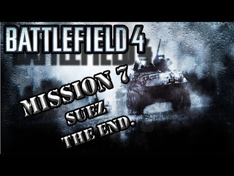 Battlefield 4 Gameplay | PC Ultra Settings-ATI | Mission seven - Suez