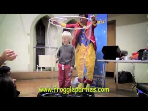 Froggle Parties - Childrens Parties and Childrens Entertainers