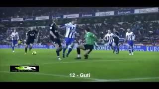 فيديو افضل 15 تمريرة خبيثة مخادعة في تاريخ كرة القدم